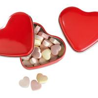 Cukierki w kształcie serca