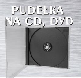 Pudełka na CD i DVD