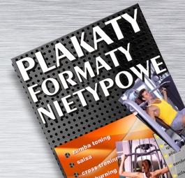 Plakaty formaty nietypowe (powyżej formatu A3+)
